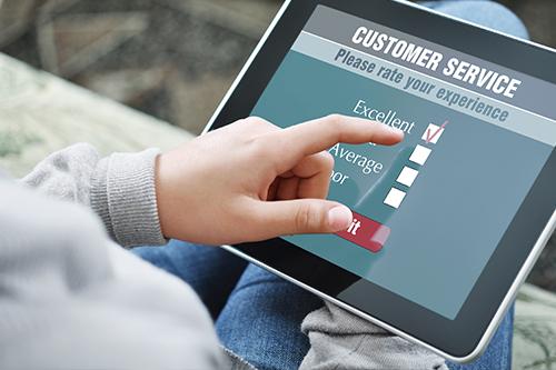 Expérience client : Evaluez le ressenti client <br />à chaque interaction